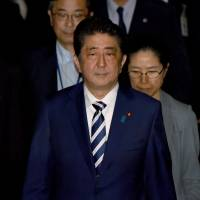 Abe fears fallout  from conspiracy law's passage in Tokyo assembly election