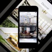 The Airbnb Inc. app is displayed on an Apple Inc. iPhone and iPad in this arranged photograph taken in 2014. | BLOOMBERG