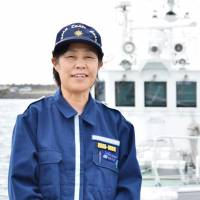 First woman to head regional Japan Coast Guard office focused on the mission, not her novelty