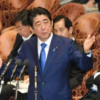 Despite evidence, Abe fights Diet calls for new probe into alleged Kake Gakuen conflict