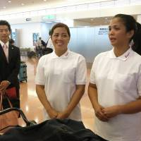 Tokyo's Filipino housekeepers arrive as part of program to bolster sagging labor numbers