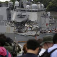 USS Fitzgerald to return to U.S. for extensive repairs