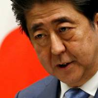 Abe prods LDP to speed up work on charter as approval ratings sink