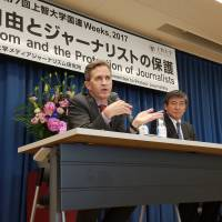 U.N. expert Kaye fires back at Tokyo's criticism of freedom of expression report