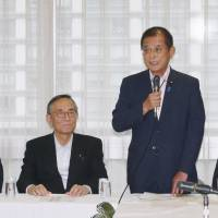 LDP claims it's not seeking to expand SDF activities through constitutional change