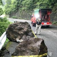 Two injured after upper 5 quake strikes in southern Nagano