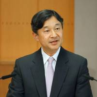 Crown Prince Naruhito says will devote his 'heart and soul' to job as emperor