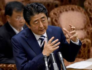 Prime Minister Shinzo Abe argued that the conspiracy law is needed to strengthen efforts to prevent terrorist attacks, especially ahead of the Tokyo Olympics.