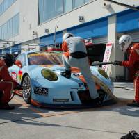 Off to the races: The Super GT at Oita's Autopolis course
