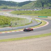 Moving forward: Last year's Kumamoto earthquakes actually changed the surface of the Autopolis race track in Oita Prefecture. | OSCAR BOYD