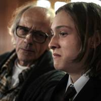 I'm not, and neither's he: Christopher Lloyd (left) and Max Records crank the creep factor up to 11 in 'I Am Not a Serial Killer.' | © 2016 FLOODLAND PICTURES AND THE TEA SHOP & FILM COMPANY