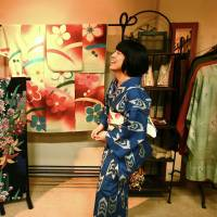 Pattern party: Celebrating the art of kimonos at shop Lunco. | KIT NAGAMURA