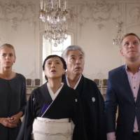 Latvian holiday: 'Magic Kimono' was filmed in the Latvian capital Riga, which Issey Ogata described as poetic and charming. | © KRUKFILMS/LOADED FILMS