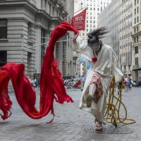 Performance artist Eiko Otake is a stranger in New York