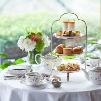 Fit for a queen: The early summer afternoon tea spread at Hotel Chinzanso Tokyo. | COURTESY OF HOTEL CHINZANSO TOKYO