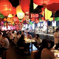 Sanagi Shinjuku: pan-Asian fare with an upbeat beer garden vibe