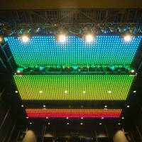 Color above: Among the technical features of Alternative Theatre is an LED-covered ceiling that can be used in productions.