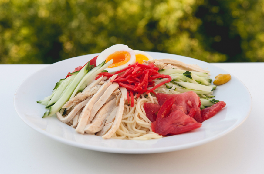 Beating the heat with food: 'Hiyashi chūka' cold Chinese-style noodles