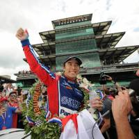 Motor racing: Sato becomes first Japanese to win Indy 500