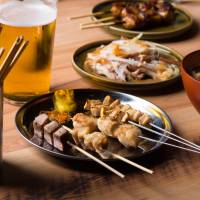 Grilled dishes served at Trunk (Hotel)'s Trunk (Kushi) outlet