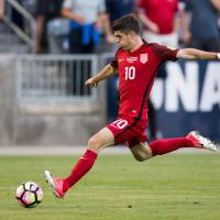Pulisic lifts U.S. past Trinidad