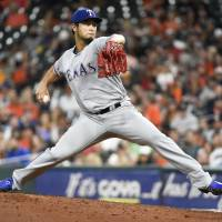 Dominant Darvish limits Astros to one hit