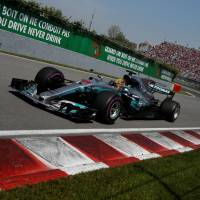 Hamilton turns strong start into victory at Canadian Grand Prix