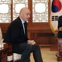 South Korean leader proposes Asian nations co-host 2030 World Cup
