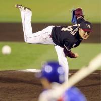 Eagles star Norimoto extends double-digit strikeout record to eight games