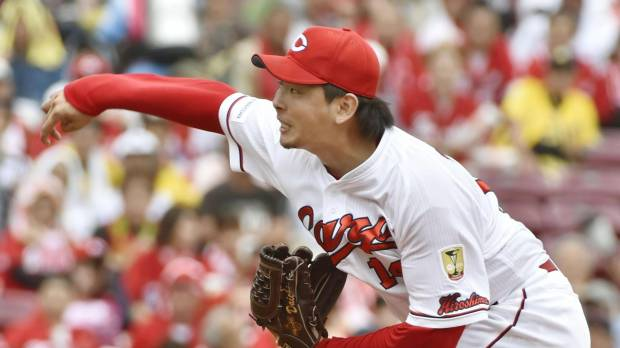 Osera preserves record as Carp beat Tigers, move five games clear