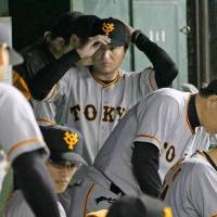 Giants manager Yoshinobu Takahashi's club has lost 11 straight games, tying a team record set in 1975. | KYODO