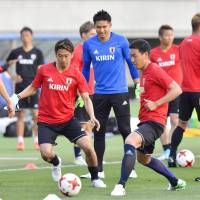 Hotly tipped goalkeeper Nakamura enjoying first taste of national team