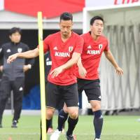 Yoshida issues challenge to Shoji a day before Japan-Syria friendly