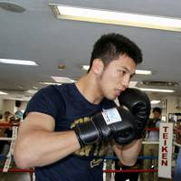 Murata resumes training with focus on getting better