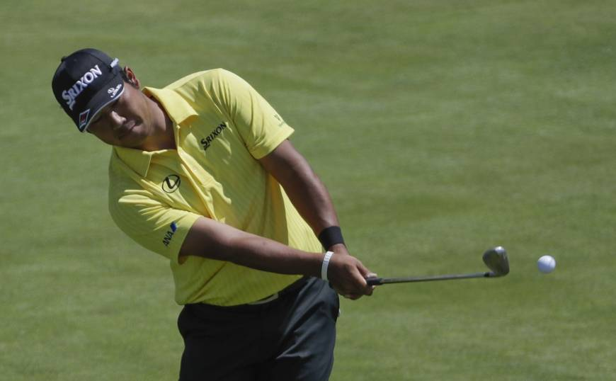 Hideki Matsuyama raised his profile by finishing tied for second at the U.S. Open on Sunday. | AP