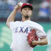 Darvish solid in no-decision