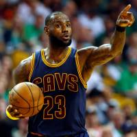 Cavaliers superstar LeBron James is appearing in his seventh consecutive NBA Finals. Cleveland faces the Golden State Warriors for the third straight year. | USA TODAY / VIA REUTERS