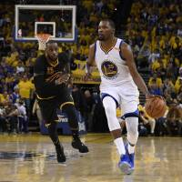 Durant enjoying joyride in first season with Warriors