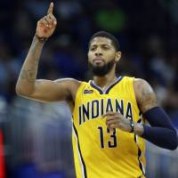 George's camp informs Pacers of star's plan to leave Indiana in summer of 2018