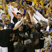 Warriors put away Cavs, claim second title in three years