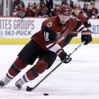 Coyotes won't offer Doan a contract