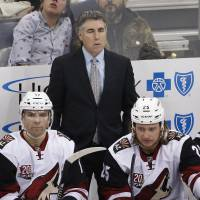 Changes continue in Arizona with Tippett out as coach of Coyotes