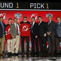 Devils make Hischier No. 1 pick