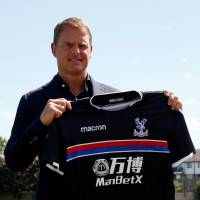 De Boer takes over as new Crystal Palace manager