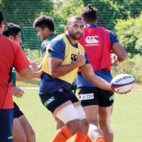 Former Brave Blossoms captain Michael Leitch returns to the team for Saturday's test against Romania.   KYODO