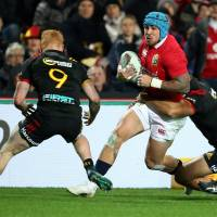 Lions thrash Chiefs in final match before test against All Blacks