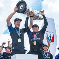 Team New Zealand completes rout to capture America's Cup