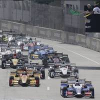 Sato finishes eighth, fourth during IndyCar doubleheader in Detroit