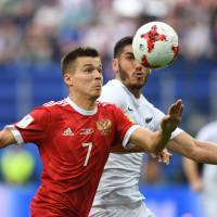 Russia delivers win for Putin to open Confederations Cup