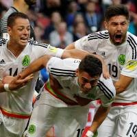 Mexico strikes late for draw against Portugal